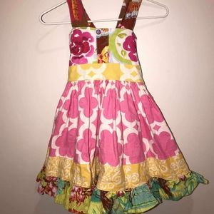 SH Clothing Multi Pattern Dress GUC 18M